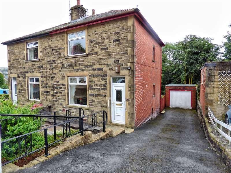 2 Bedrooms Semi Detached House for sale in Rockcliffe Avenue, Bacup, Lancashire, OL13