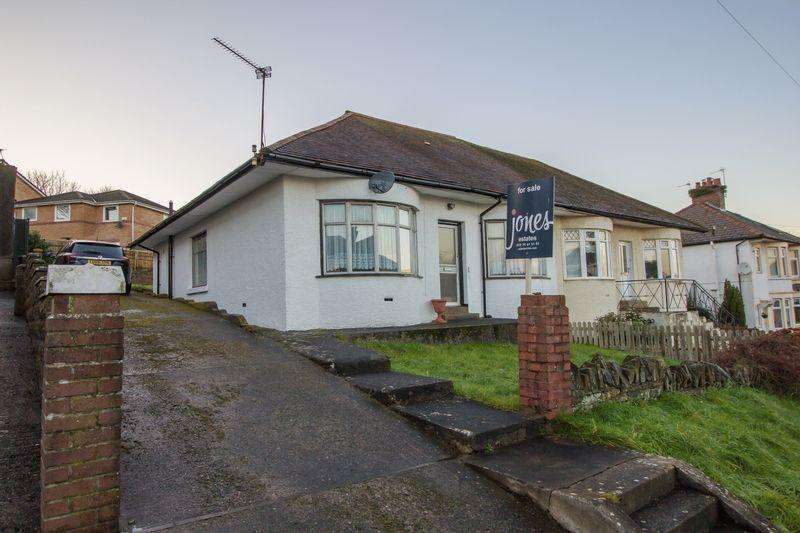 3 Bedrooms Semi Detached Bungalow for sale in Penlan Road, Penarth