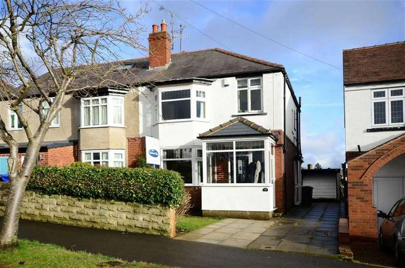 3 Bedrooms Semi Detached House for sale in Whirlow Court Road, Whirlow, Sheffield, S11