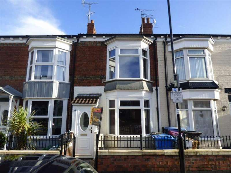 2 Bedrooms Terraced House for sale in De La Pole Avenue, Hull, East Yorkshire, HU3