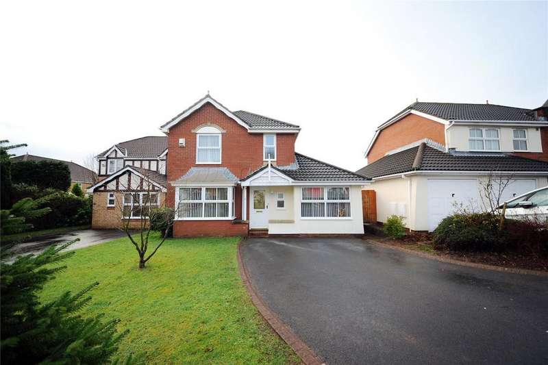 4 Bedrooms Detached House for sale in Grangewood Close, Pontprennau, Cardiff, CF23