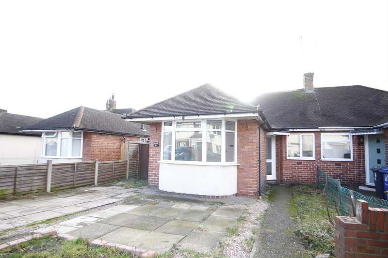 3 Bedrooms Semi Detached Bungalow for sale in Shelley Avenue, Burton-On-Trent