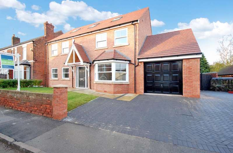 5 Bedrooms Detached House for sale in Wrottesley Road, Tettenhall, Wolverhampton WV6