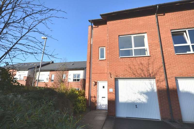 3 Bedrooms End Of Terrace House for sale in 14 Robert Harrison Avenue, Didsbury Point, West Didsbury