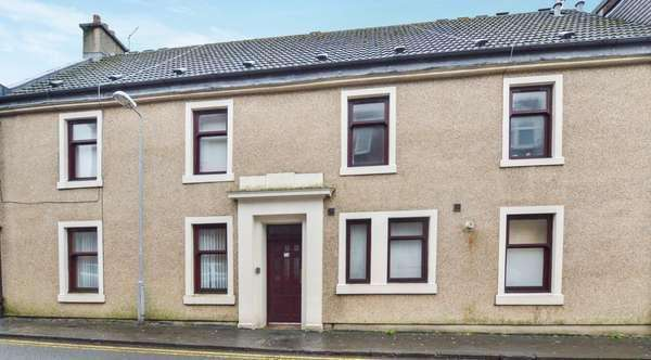 2 Bedrooms Flat for sale in 74 Nelson Street, Largs, KA30 9AF