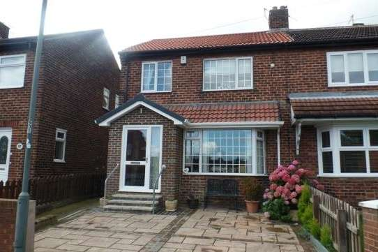 4 Bedrooms Semi Detached House for sale in Johnson Estate, Durham, DH6 3LH