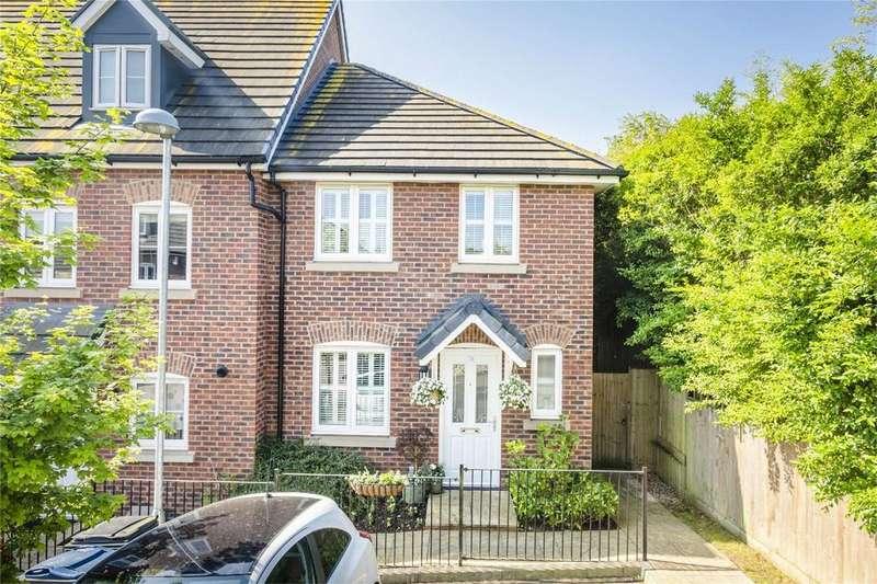 3 Bedrooms End Of Terrace House for sale in Saffron Crescent, SAWBRIDGEWORTH, Hertfordshire