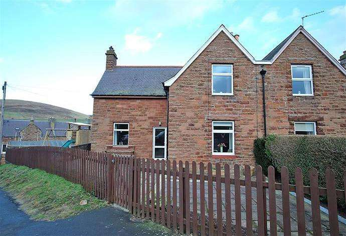 4 Bedrooms Semi Detached House for sale in 1 Forest Avenue, Galashiels, TD1 1JS
