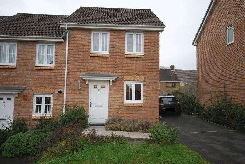 2 Bedrooms End Of Terrace House for sale in 15 Cae Morfa, NEATH, West Glamorgan