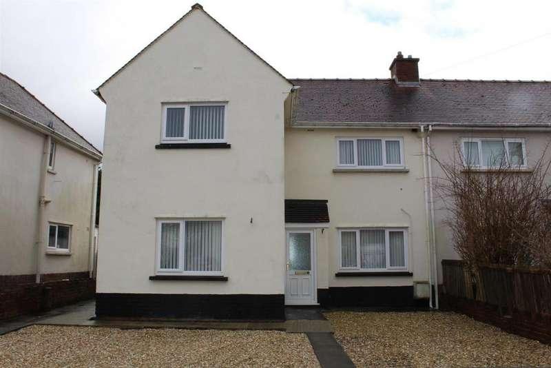 3 Bedrooms Semi Detached House for sale in Heol Y Wyrddol, Ammanford