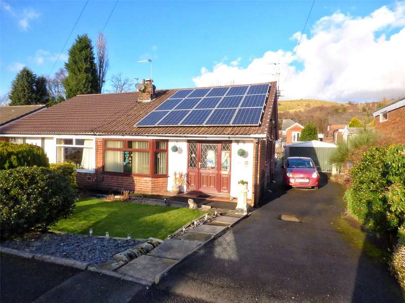 2 Bedrooms Semi Detached Bungalow for sale in Jordan Avenue, Shaw, Oldham, Greater Manchester, OL2