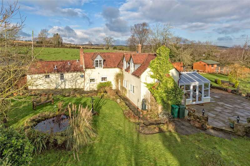 3 Bedrooms Detached House for sale in Glasshouse Cottage, Hopton Bank, Hopton Wafers, Kidderminster, Worcestershire, DY14