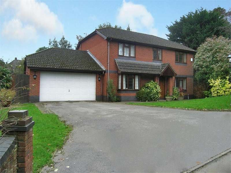 4 Bedrooms Detached House for sale in Courtenay Close, Old St Mellons, Cardiff