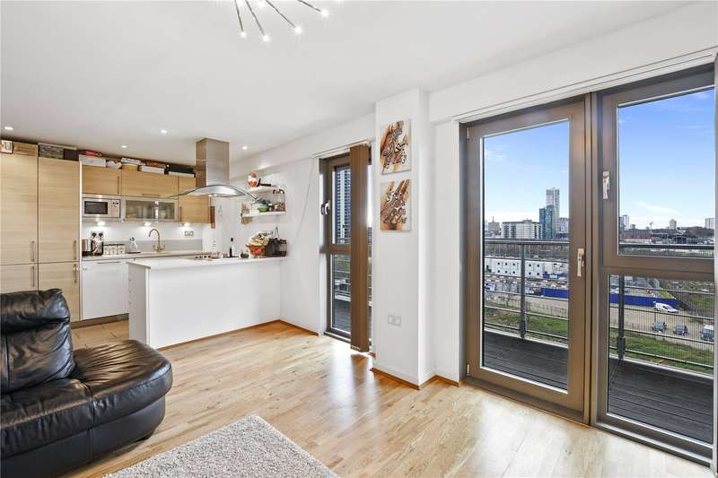 2 Bedrooms Flat for sale in Azura Court, 48 Warton Road, London, E15