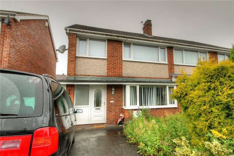 3 Bedrooms Semi Detached House for sale in Pendragon, Great Lumley, Chester le Street, DH3