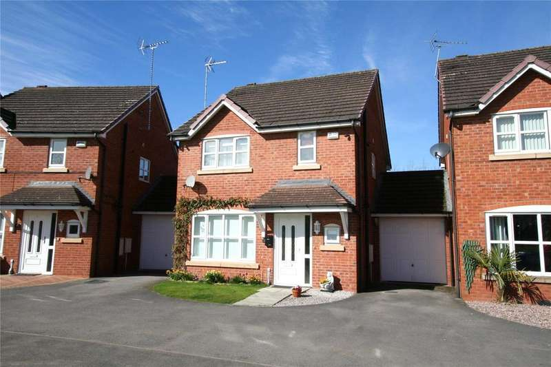 3 Bedrooms Detached House for sale in Spring Gardens, Rhosddu, Wrexham, LL11