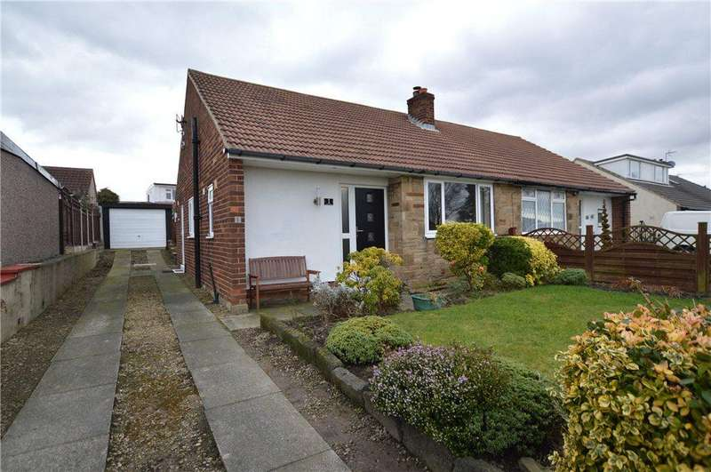 2 Bedrooms Semi Detached Bungalow for sale in Redhill Close, Tingley, Wakefield