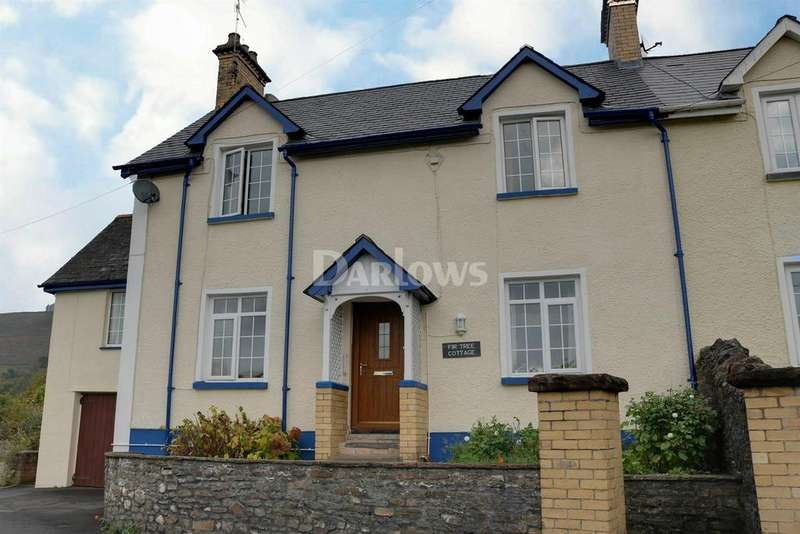 4 Bedrooms Semi Detached House for sale in Fir Tree Cottage, Royal Oak, Machen