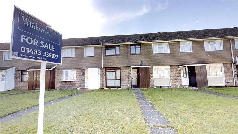 3 Bedrooms Terraced House for sale in Groom Walk, Guildford, Surrey, GU1
