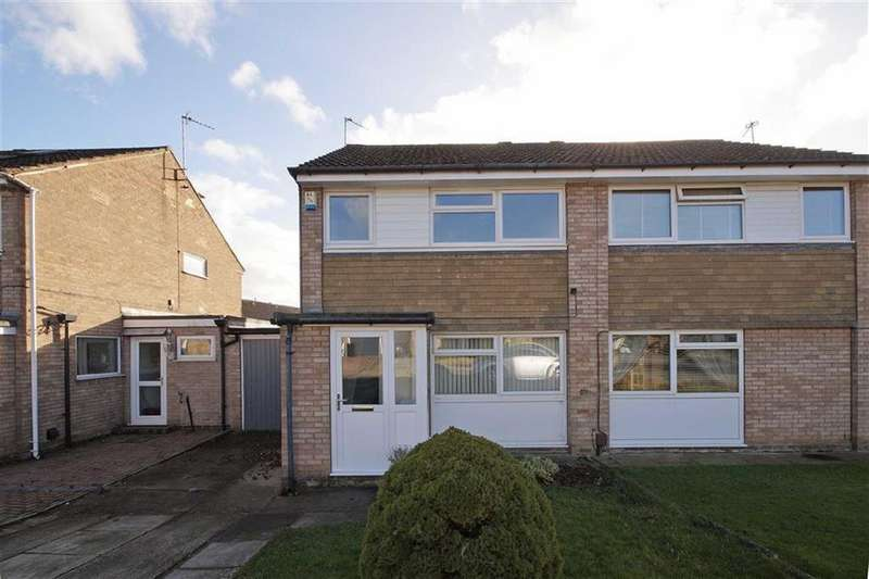 3 Bedrooms Semi Detached House for rent in Bardale Close, Knaresborough, North Yorkshire
