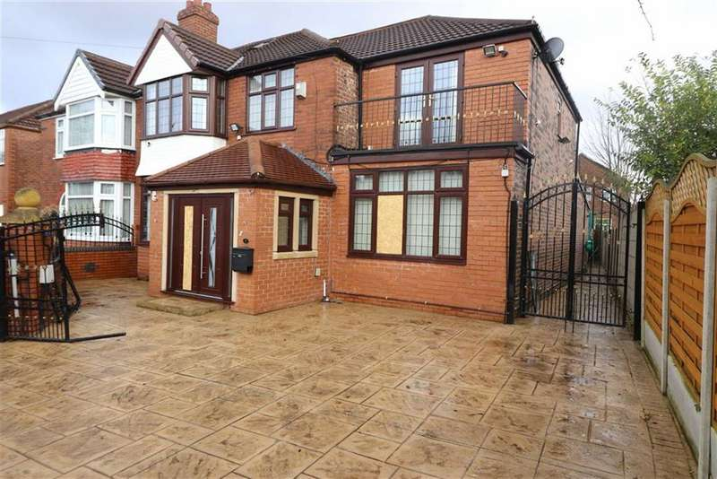 5 Bedrooms Semi Detached House for sale in Dacre Avenue, Whalley Range, Manchester, M16