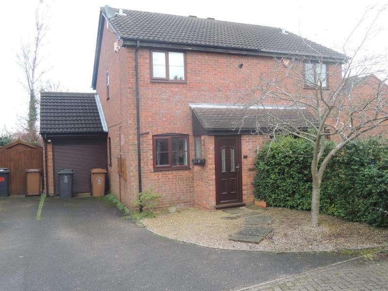 2 Bedrooms Semi Detached House for rent in Haymoor, Lichfield WS14 9SX