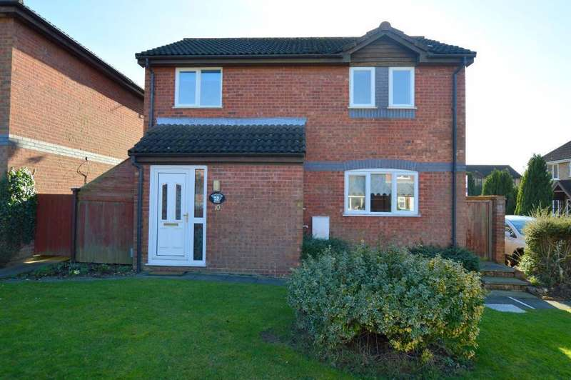 3 Bedrooms Detached House for sale in Harveys Hill, Luton, LU2 7YL