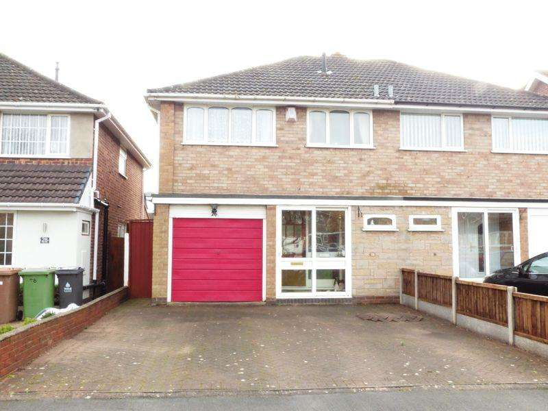 3 Bedrooms Semi Detached House for sale in Bridlewood, Streetly