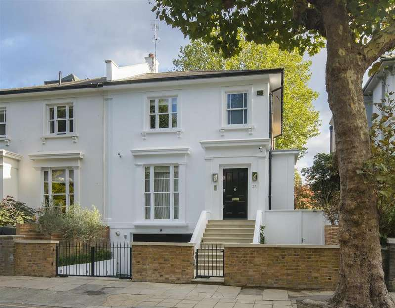 4 Bedrooms Semi Detached House for sale in Springfield Road, St John's Wood, London, NW8