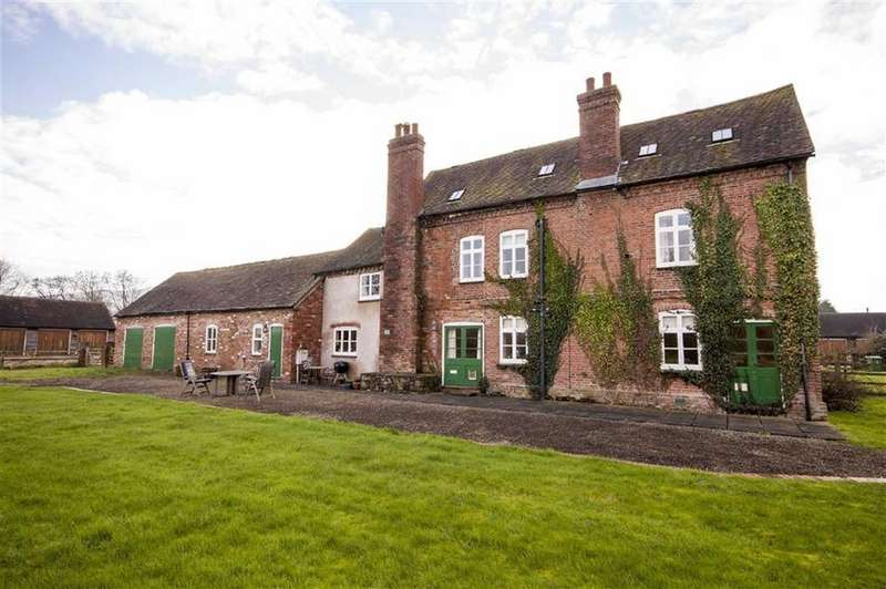 5 Bedrooms Country House Character Property for sale in Leebotwood, Church Stretton, Shropshire