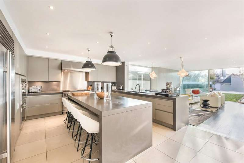 4 Bedrooms Semi Detached House for rent in Lonsdale Road, Barnes, London, SW13