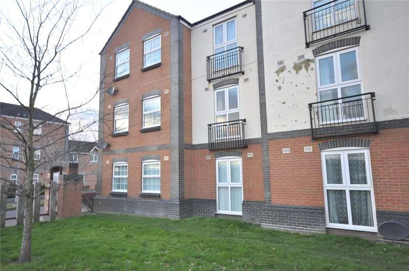 2 Bedrooms Apartment Flat for sale in St. Austell Way, Churchward, Swindon, Wiltshire, SN2