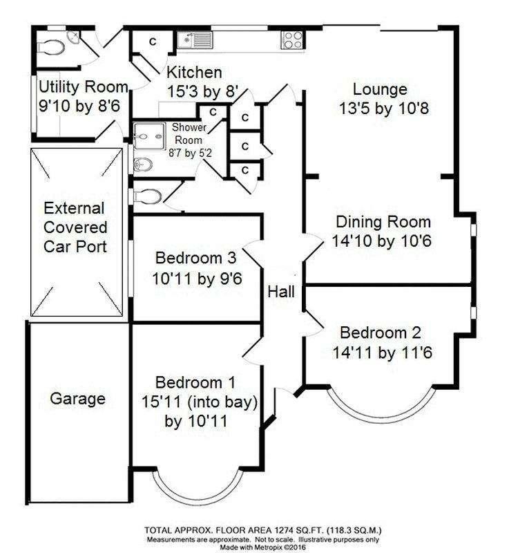 3 Bedrooms Detached Bungalow for sale in ASHTEAD VILLAGE