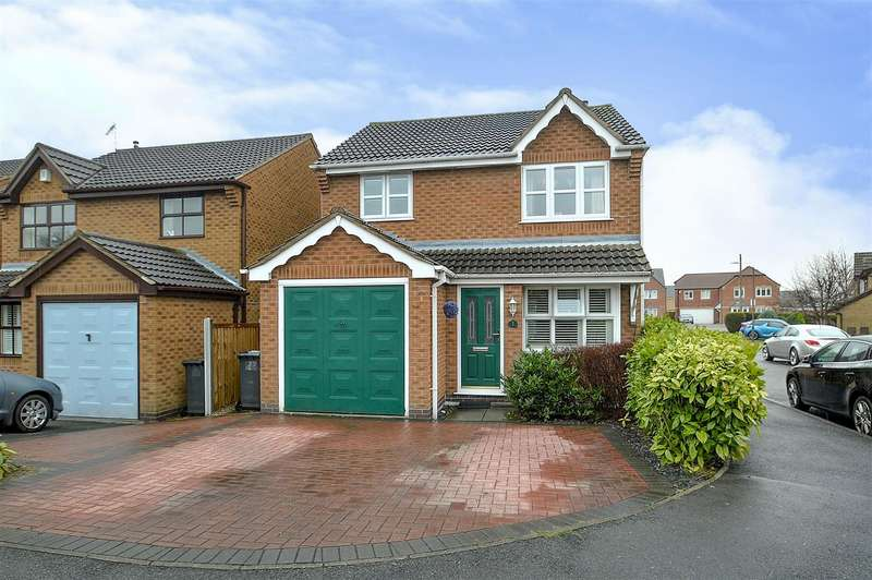 3 Bedrooms Detached House for sale in Sovereign Grove, Long Eaton