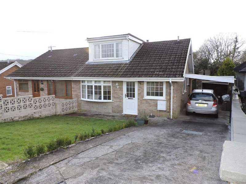 3 Bedrooms Semi Detached House for sale in Delffordd, Rhos