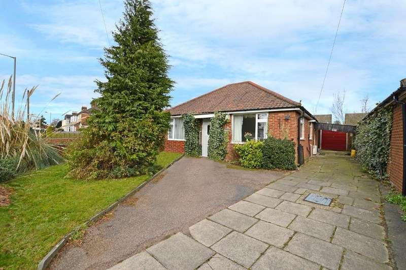 3 Bedrooms Detached Bungalow for sale in Ashcroft Road, Stopsley, Luton, LU2 9AU