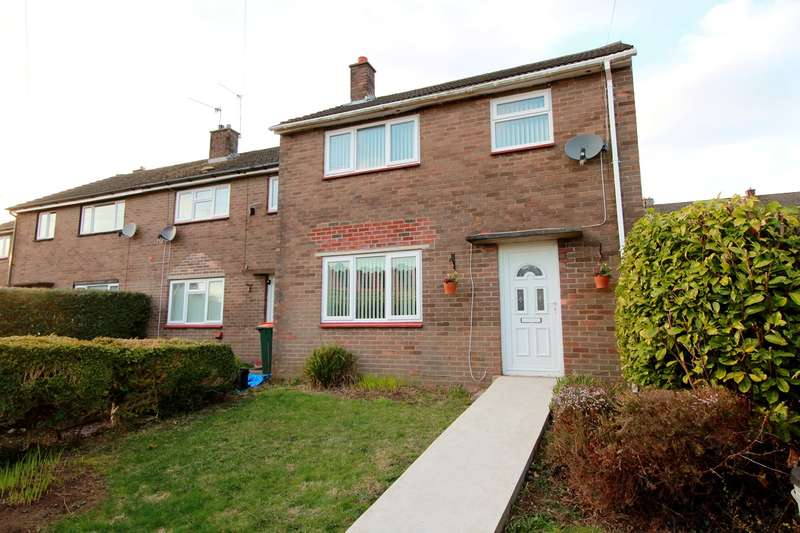 3 Bedrooms Semi Detached House for sale in Caradoc Close, Caerleon, Newport, NP18