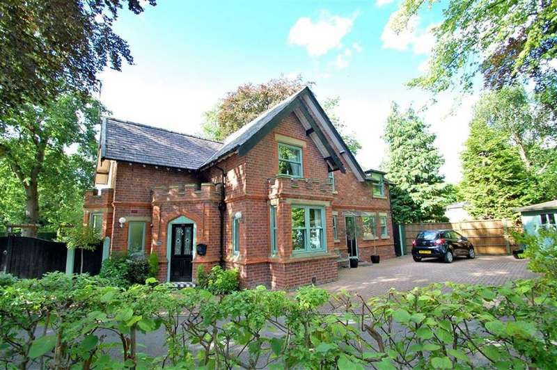 4 Bedrooms Detached House for sale in Ack Lane East, Bramhall, Cheshire