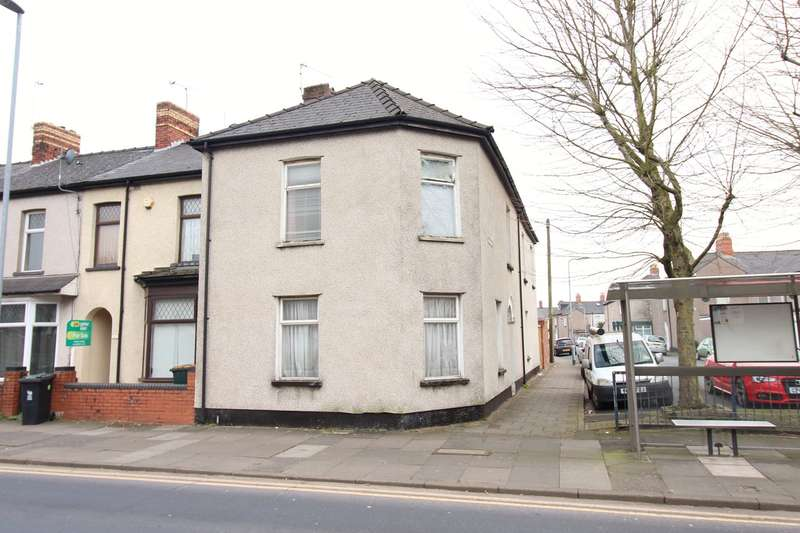 4 Bedrooms End Of Terrace House for sale in Essex Street, Newport, NP19