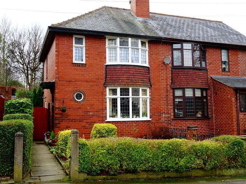 3 Bedrooms Semi Detached House for sale in Thorpe House Rise, Norton Lees, Sheffield S8