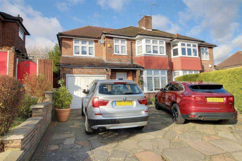 4 Bedrooms Semi Detached House for sale in Buttermere Gardens, Purley