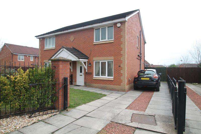 3 Bedrooms Semi Detached House for sale in Wintersweet Gardens, Stockton-On-Tees