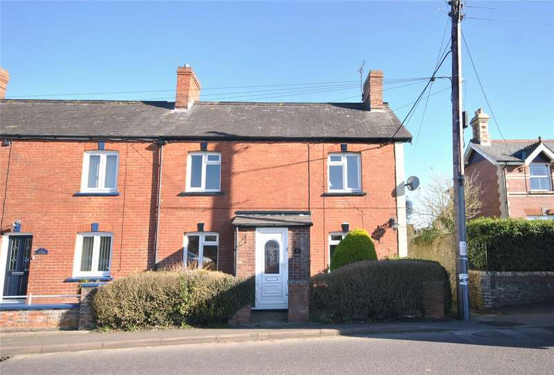 3 Bedrooms End Of Terrace House for sale in Bridge Cottages, Chard Junction, Chard, Somerset, TA20