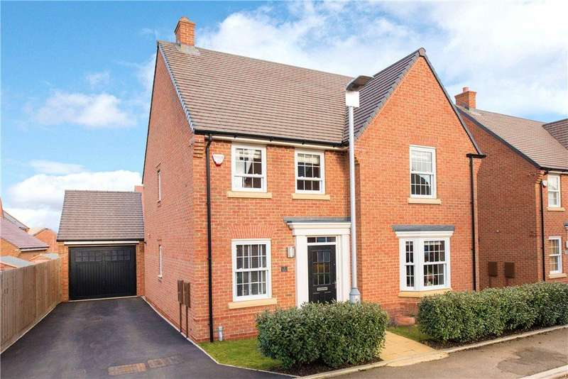 4 Bedrooms Detached House for sale in Little Blakelands, Marston Moretaine, Bedfordshire
