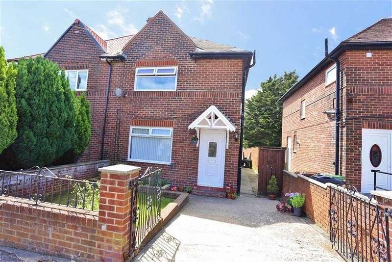3 Bedrooms Semi Detached House for sale in Powis Road, Plains Farm, Sunderland, SR3