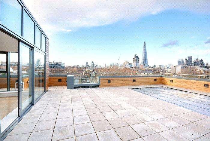 2 Bedrooms Flat for sale in Alwen Court, 6 Pages Walk, Bermondsey, London, SE1