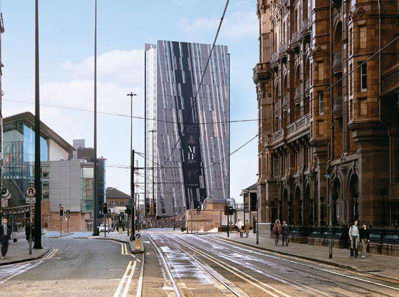 2 Bedrooms Apartment Flat for sale in Axis Tower, Manchester