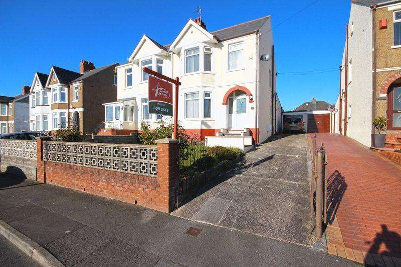 3 Bedrooms Semi Detached House for sale in Uplands Road, Rumney