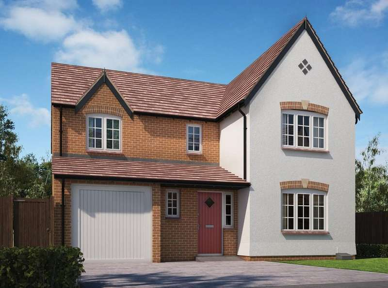 4 Bedrooms Detached House for sale in Dickens Heath Road, Dickens Heath