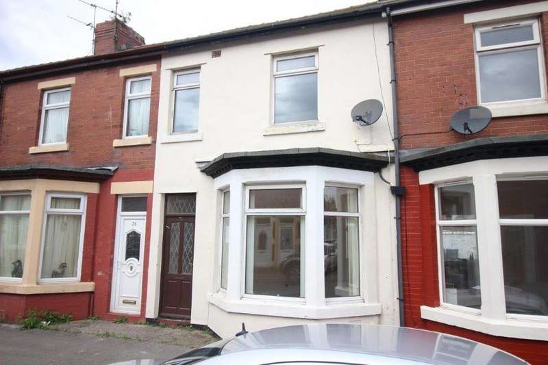 3 Bedrooms Terraced House for sale in Addison Road, Fleetwood